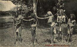 CEYLON- VEDDHAS WILD MEN  CEYLON  SRI LANKA . CEYLON CEYLAN - Sri Lanka (Ceilán)