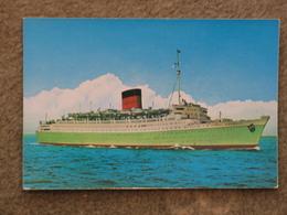 CUNARD LINE CARONIA - GREEN HULL - Dampfer