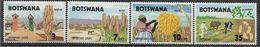1971 BOTSWANA 223-26** Céréales, Labour - Botswana (1966-...)