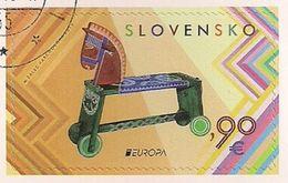 2015 Slowakei Slovensko    Mi. 764 Used  Booklet Stamp Historisches Spielzeug. - Europa-CEPT