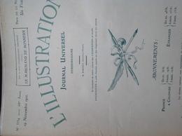 L'ILLUSTRATION N° 3534 Du 19 NOVEMBRE 1910 - L'Illustration
