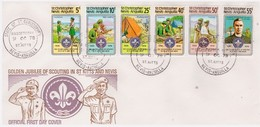ST CHRISTOPHER NEVIS ANGUILLA - 9 10 1978 FDC SCOUT - Anguilla (1968-...)