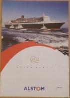 El2.n- Paquebot QUEEN MARY 2 Liner Cunard QM2 Cruises Bateau - Nautique & Maritime