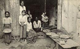NATIVE FRUIT SHOP  SRI LANKA . CEYLON CEYLAN - Sri Lanka (Ceilán)