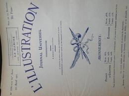 L'ILLUSTRATION N° 3556 Du 22 AVRIL 1911 - L'Illustration