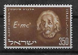 ISRAEL  N° 110 * * Albert Einstein Physique - Albert Einstein
