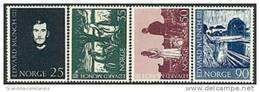 NOORWEGEN 1963 E Munch Serie PF-MNH-NEUF - Norvège