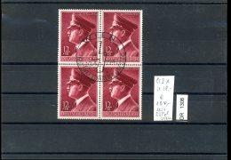 Deutsches Reich, O, 813x Im Viererblock Mit SST, Anzahl: 1 Einzellos - Allemagne