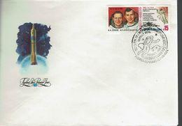 Sowjetunion USSR CCCP 1984 - Saljut 7 - Sojus T-9 - MiNr 5401 FDC - FDC & Gedenkmarken