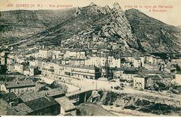Serres  Vue Principale Prise De La Ligne De Marseille à Grenoble   Cpa - Autres Communes