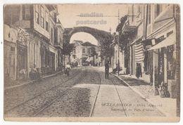 GREECE Thessaloniki Salonica, ADRIAN'S GATE, PORTE D'ADRIAN 1910s Vintage Salonique Postcard - Greece
