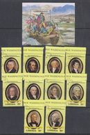 Liberia 1981 US Presidents 10v + M/s Used Cto (38093) - Liberia