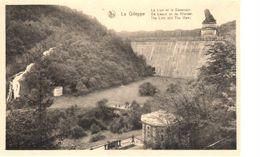 Liège - CPA - Gileppe - Le Lion Et Le Déversoire - Gileppe (Stuwdam)