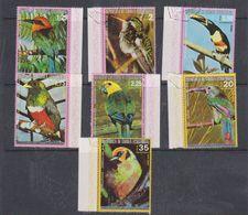Guinea 1976 Birds Of South America 7v Used Cto(38094) - Eritrea