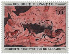 447 N°1555b** 1 F. Tirage En Rouge, Non émis. - Frankrijk