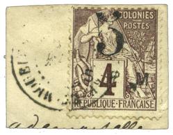 950 Saint Pierre Et Miquelon N°4 Obl. Sur Fragment - St.Pierre & Miquelon