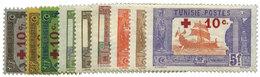 994 Tunisie N°50/58* - Tunesië (1888-1955)