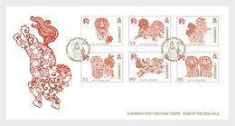 Guernsey - Postfris / MNH - FDC Chinees Nieuwjaar, Jaar Van De Hond 2018 - Guernsey