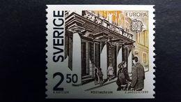 Schweden 1589 **/mnh, EUROPA/CEPT 1990, Postalische Einrichtungen - Unused Stamps