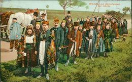 AK Schlitz, Brautzug Aus Bernshausen, Tracht, O 1907 (29834) - Other