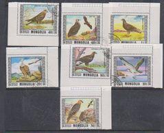 Mongolia 1976 Birds 7v Used Cto (38096) - Mongolië