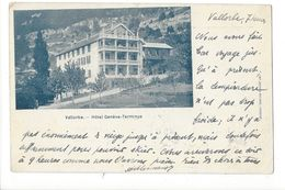 19646 -  Vallorbe Hôtel Genève Terminus - VD Waadt