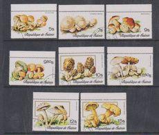 Guinée 1978 Fungi / Mushrooms 8v Used Cto (38097) - Guinee (1958-...)