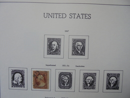 """U.S.A 1851-1975 JOLIE COLLECTION-ALBUM""""LEUCHTURM"""" A COMPLETER (2059) 2 KILOS 400 - Collections"""