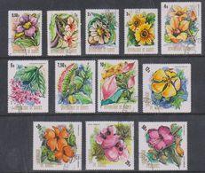 Republique De Guinee 1974 Orchids 12v Used (38097A) - Guinee (1958-...)