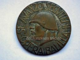 Vecchia Spilla OPERA BALILLA FASCISMO Fascista Old Pin 2 - Militari