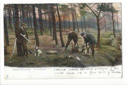 19651 -  Rabbit Shooting In The Spinney Chasse Au Lapin - Chasse
