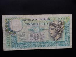 ITALIE : 500 LIRE  14.2.1974  P 94 / CI 25 BS 62 *   TTB - [ 2] 1946-… : Républic