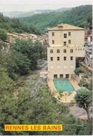 Rennes Les Bains Residence De La Reine Piscine 1987 - Francia