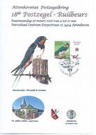 HIRONDELLE DE FENETRE  CACHET 28/03/2016 - 1985-.. Birds (Buzin)