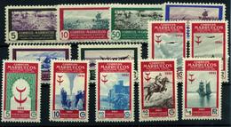 2380-Marruecos Español Nº 330/5, 336/42 - Spanish Morocco