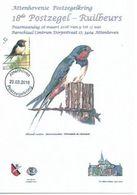ATTENHOVENSE  2016   HIRONDELLE DE FENETRE - 1985-.. Pájaros (Buzin)
