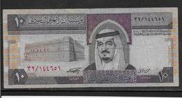 Arabie Saoudite -  10 Riyals - Pick N°23 - TTB - Saoedi-Arabië