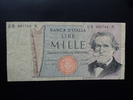 ITALIE : 1000 LIRE  11.3.1971  P 101b / CI 64 BS 480 *    TTB - [ 2] 1946-… : Républic