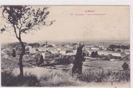 L Aude Pezens Vue Panoramique Labouche 1915 - Autres Communes