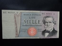 ITALIE : 1000 LIRE  10.01.1977  P 101e / CI 64 BS 483 *    Presque SUP - [ 2] 1946-… : République