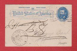 USA -  Entier Postal  -  Kalawazoo --  1893 - Postal Stationery