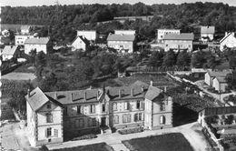 CPSM Dentelée - CHATEL-sur-MOSELLE (88) - Vue Aérienne Du Quartier De L'Hospice Dans Les Années 50 - Chatel Sur Moselle