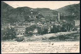 B2707 - Meran - Merano - Panorama - Gel 1903 - Merano