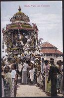 SRI LANKA - Colombo - Hindu Vale Festival, Juggernaut Car - PERFECT CONDITION - Sri Lanka (Ceylon)