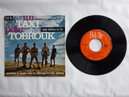 B.O.F UN TAXI POUR TOBROUK  Label BEL AIR 211.035  MUSIQUE GEORGES GARVARENTZ - Soundtracks, Film Music