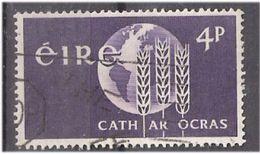 Ireland 1963 Fight Against Hunger  Mi 167, Cancelled(o) - Usati
