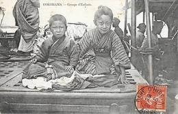 Japon: Groupe D'enfants, Yokohama - 1908 - Yokohama