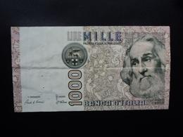ITALIE : 1000 LIRE  2.5.1983   P 109a / CI 65 BS 489    TTB+ - [ 2] 1946-… : Républic