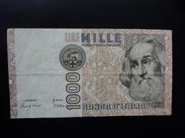 ITALIE : 1000 LIRE  28.10.1985   P 109a / CI 65 BS 491 *    TTB+ - 1000 Lire