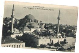 *** TURQUIE *** CONSTANTINOPLE  Vue  Panoramique De La Mosquée Bayzid - Turquia
